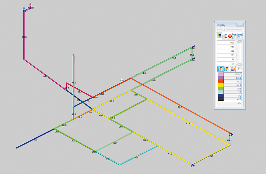 Dynamic simulation of gas pipeline networks with electrical analogy