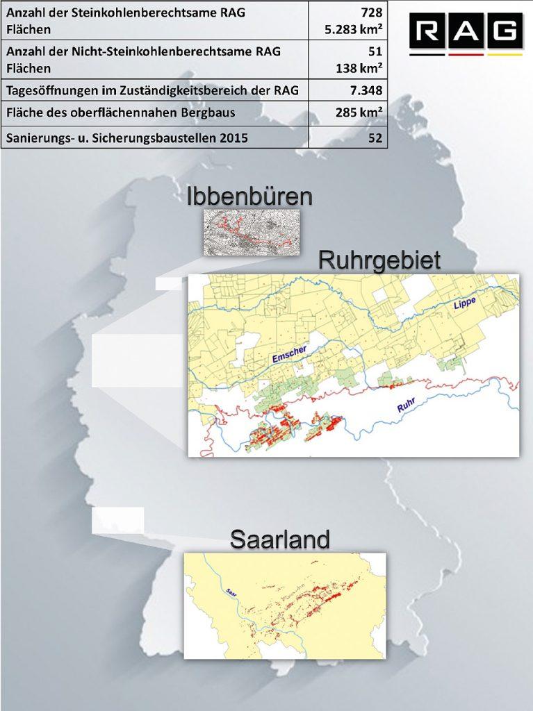 Fig. 1. Post-mining of RAG Aktiengesellschaft. // Bild 1. Altbergbau der RAG Aktiengesellschaft.