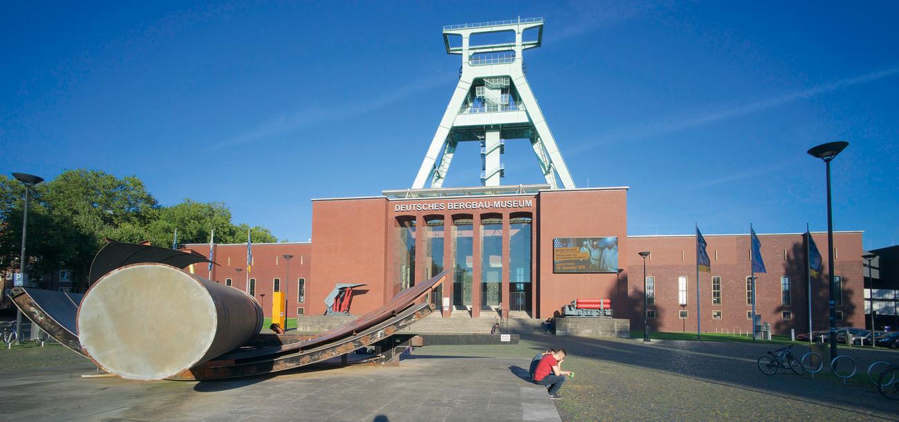 Fig. 1. Steeped in tradition: the conference opened at the German Mining Museum. // Bild 1. Traditionsreicher Ort: das Deutsche Bergbaumuseum. Hier wurde die Konferenz eröffnet. Photo/Foto: BG RCI