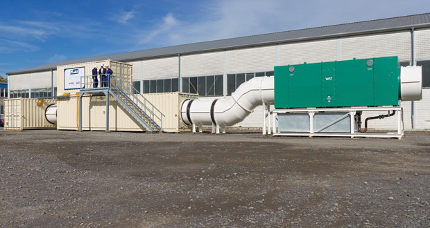 CFT GmbH Compact Filter Technic successfully implements cooling