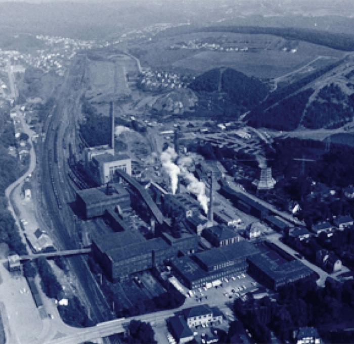 Fig. 5. Reden colliery, Saar coalfield, circa 1960. // Bild 5. Bergwerk Reden, Saarland um 1960. Photo/Foto: Karl Kleineberg