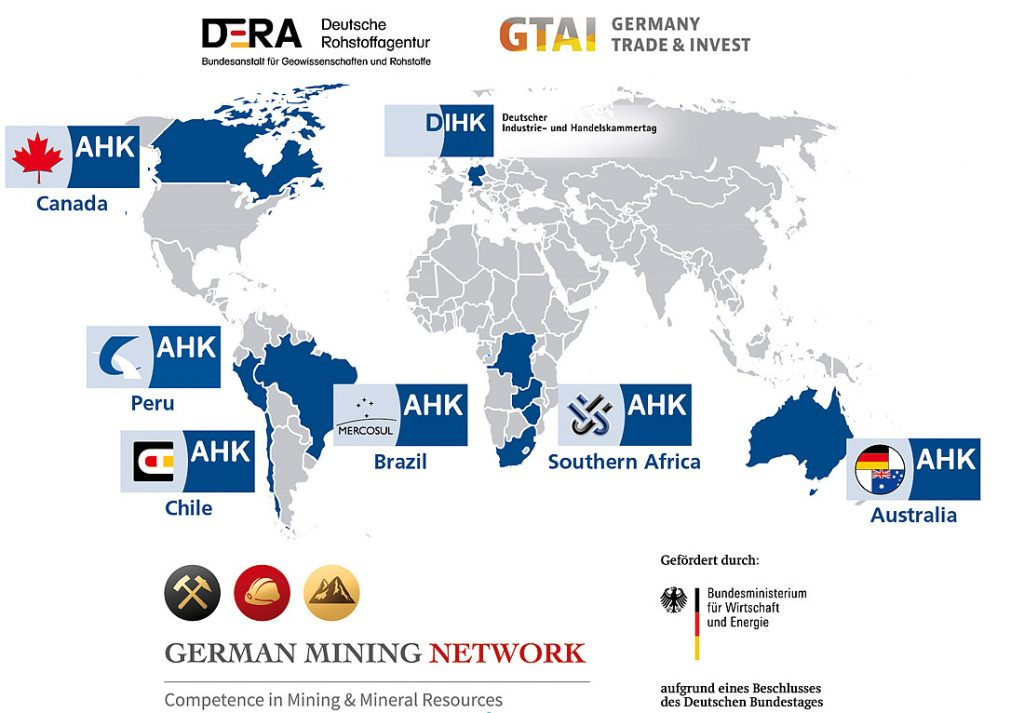 Fig. 1. // Bild 1. German Mining Network.